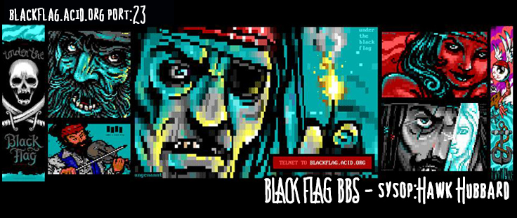 Black Flag BBS Official Website
